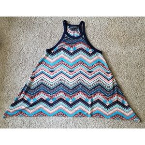 Almost Famous Tunic Tank Top - NWOT